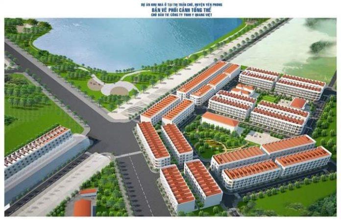 Đất đấu giá Diamond City Yên Phong - Bắc Ninh