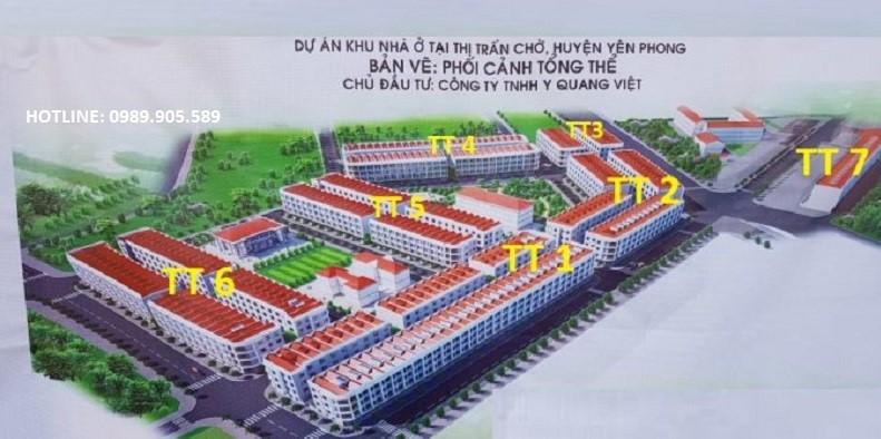 Tổng quan khu đấu giá Diamond City Yên Phong - Bắc Ninh