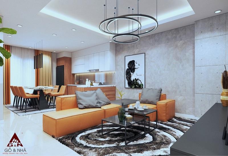 Ảnh mẫu thiết kế căn 3 ngủ chung cư 16 Láng Hạ Grand Plaza