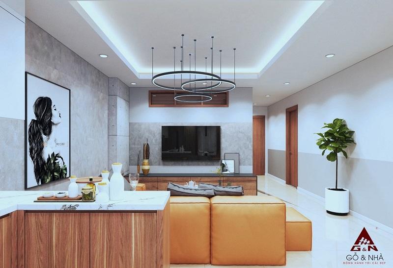 Ảnh mẫu 3 thiết kế căn 3 ngủ chung cư 16 Láng Hạ Grand Plaza