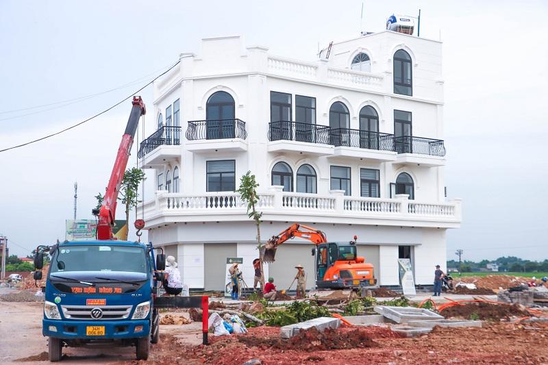 Hình ảnh thực tế 2 Khu đô thị mới Lạc Long - Kinh Môn - Hải Dương