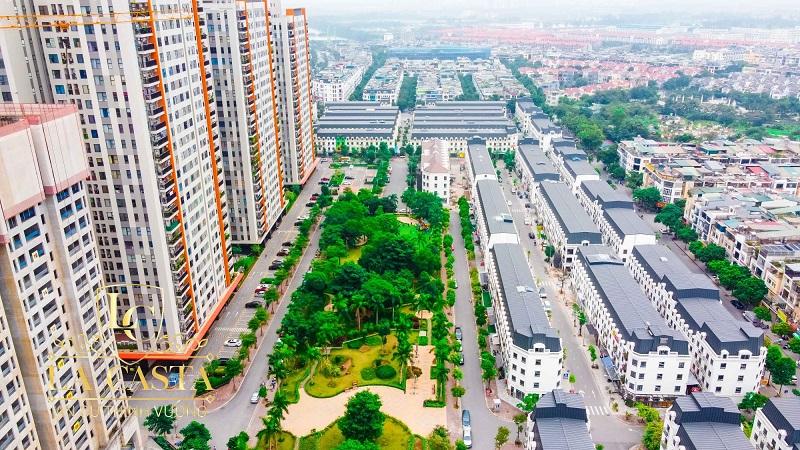 Ảnh thực tế 1 khu đô thị Văn Phú - Hà Đông