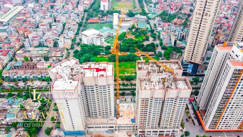 Ảnh thực tế 2 khu đô thị Văn Phú - Hà Đông