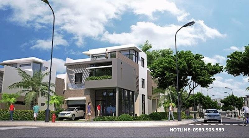 Biệt thự khu đô thị mới phía Đông thành phố Chí Linh