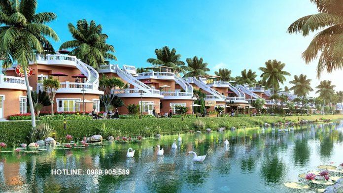 Biệt thự golf hoa tiên golf villas Hà Tĩnh