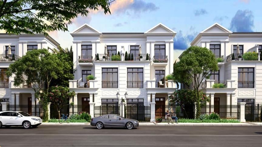 Biệt thự song lập khu đô thị mới phía Đông thành phố Chí Linh