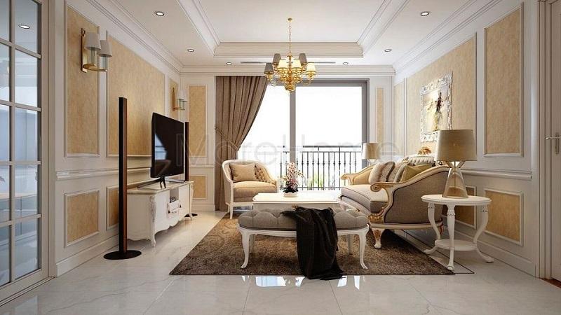 phối cảnh căn hộ chung cư tháp đôi Bách Việt Diamond Xương Giang