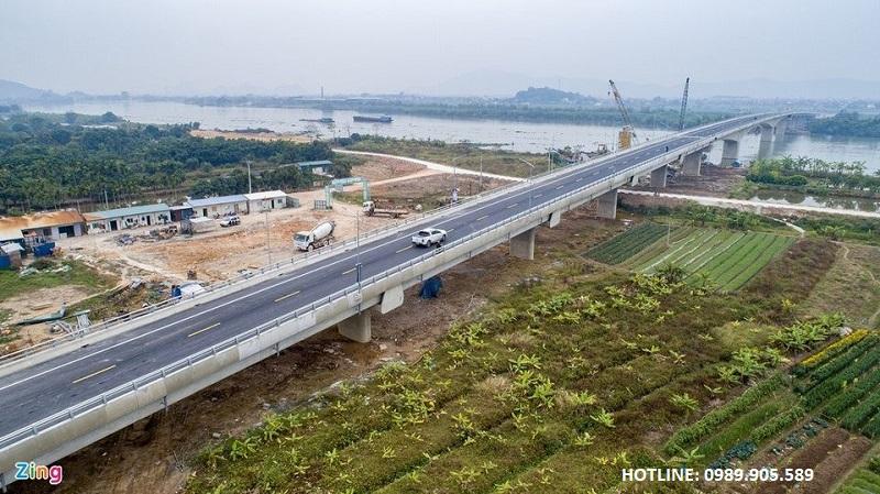 Cầu Triều kết nối KĐT Lạc Long - Hải Dương
