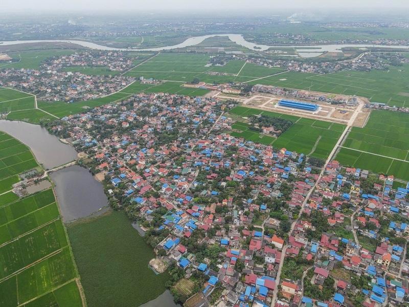Flycam 1 khu đô thị Lạc Long - Hải Dương