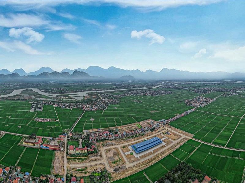 Flycam 2 khu đô thị Lạc Long - Hải Dương
