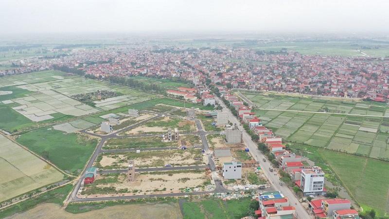 Hình ảnh 1 thực tế Khu đấu giá Diamond City Nghiêm Xá - Yên Phong - Bắc Ninh