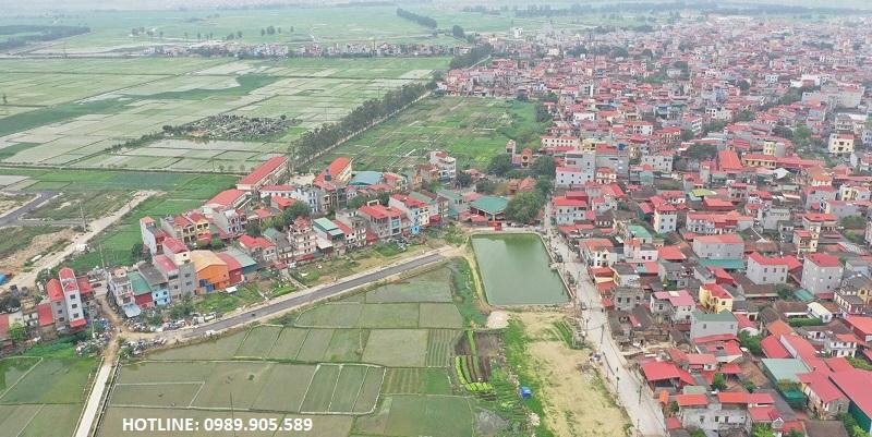 Hình ảnh 2 thực tế Khu đấu giá Diamond City Yên Phong - Bắc Ninh
