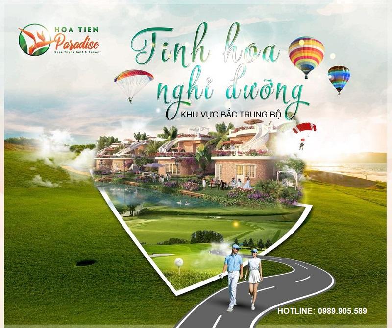 Hoa Tiên Golf Villas Hà Tĩnh