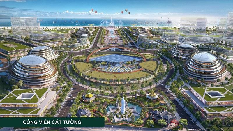 Tiện ích 2 dự án KN Paradise Khánh Hòa