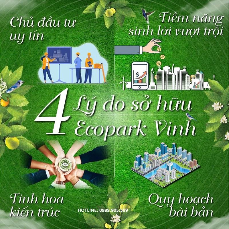 4 lý do nên đầu tư Eco Central Park Vinh