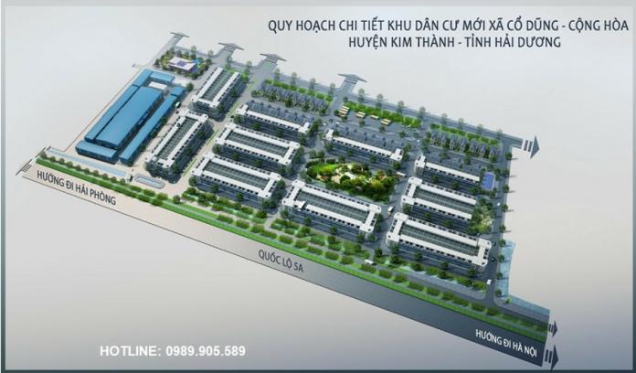 Khu đô thị mới Cổ Dũng - Kim Thành - Hải Dương
