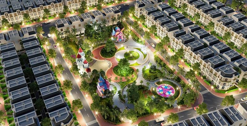 Khu vui chơi trẻ em dự án nhà ở Đông Yên