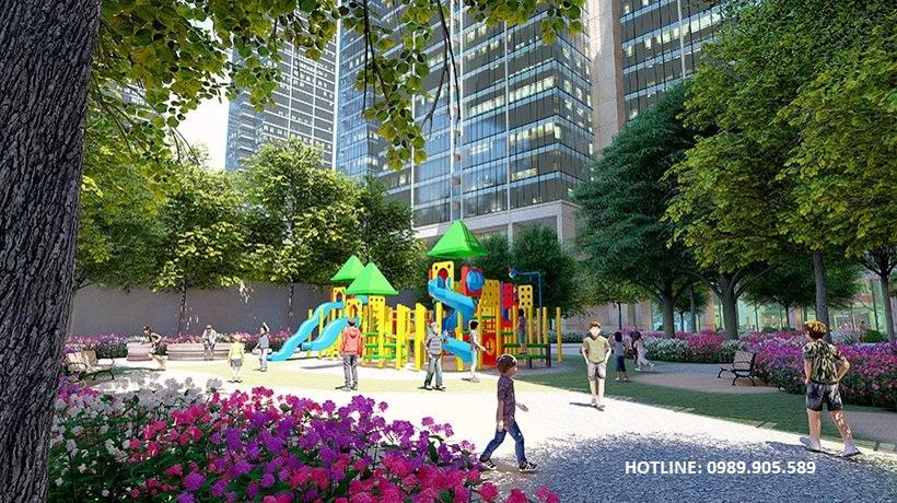 phối cảnh khu vui chơi dự án Trust city Dragon Park Văn Giang