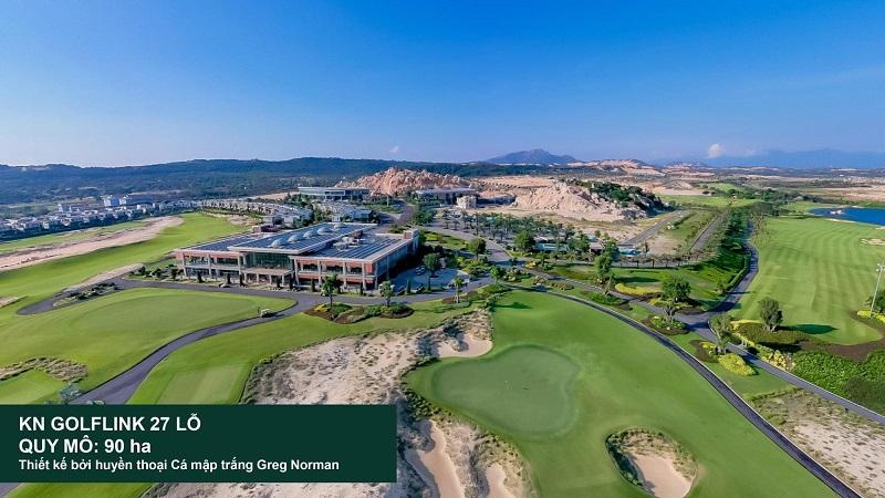 Tiện ích Golf tại dự án KN Paradise