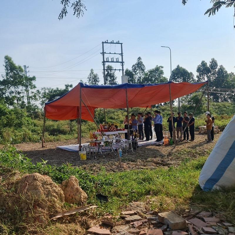 Lễ khởi công dự án khu nhà ở Đông Yên - Yên Phong - Bắc Ninh