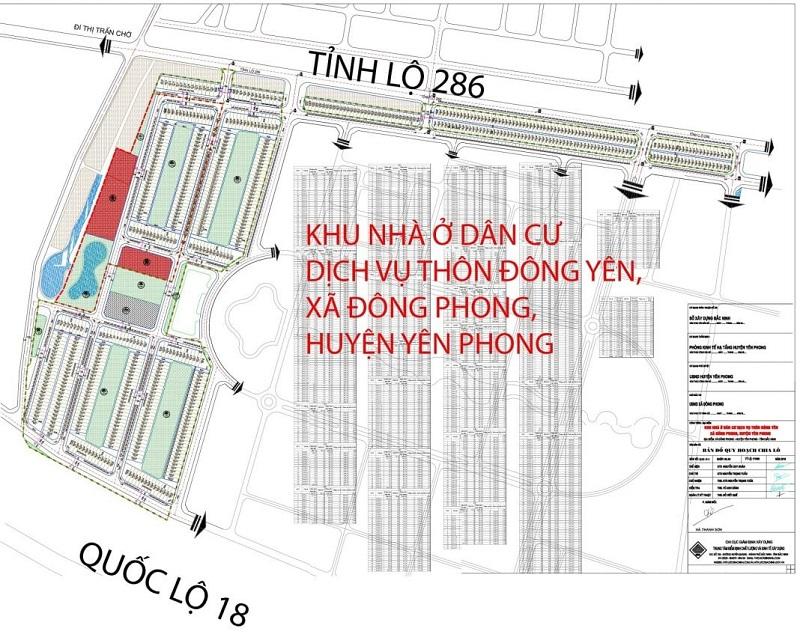 Tổng quan dự án đất đấu giá Yên Phong - Bắc Ninh