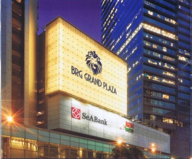 Mặt trước Chung cư Grand Plaza