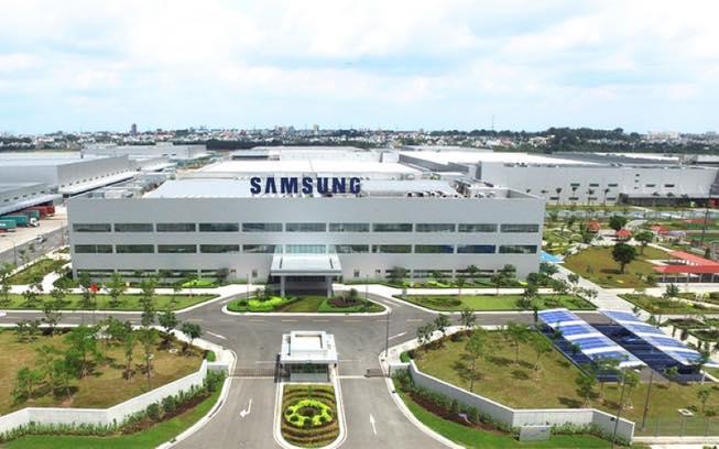 Nhà máy Samsung - Yên Phong - Bắc Ninh