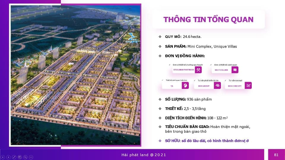 Thông tin phân khu Parasol KN Paradise Khánh hòa
