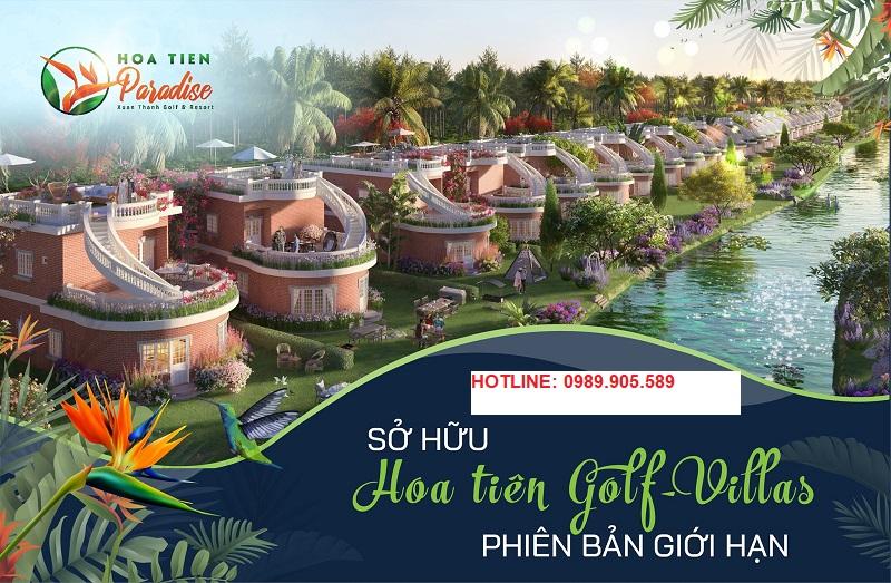 Phối cảnh 1 Hoa Tiên Golf Villas Hà tĩnh