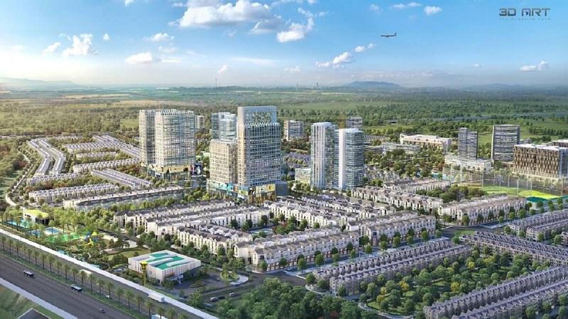 Phối cảnh Kim Đô City Yên Phong