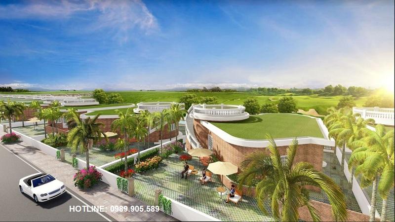 Biệt thự Hoa Tiên Golf Villas view sân Golf