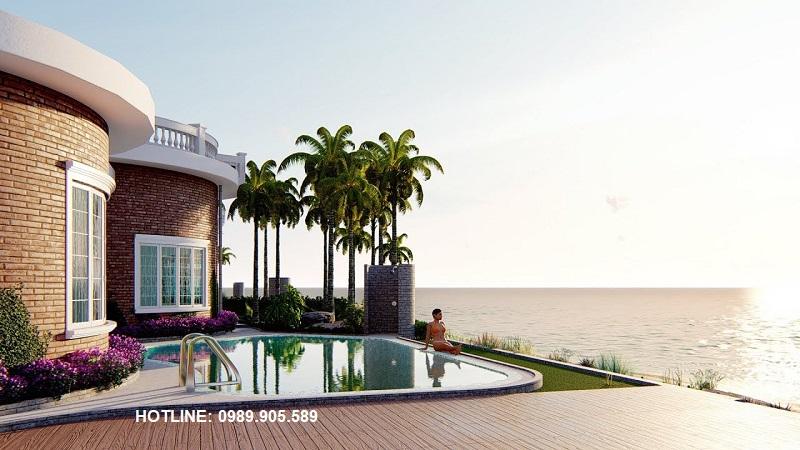 Bể bơi riêng Biệt thự Hoa Tiên Golf Villas Xuân Thành