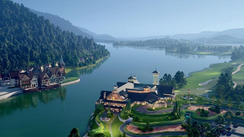 Biệt thự Serena Valley Thanh Lanh Resort Vĩnh Phúc