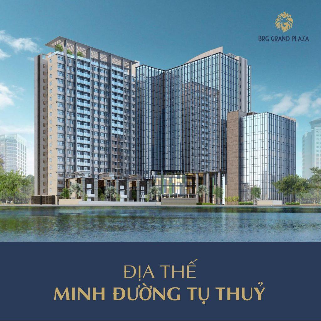 dự án BRG Grand Plaza 16 Láng Hạ