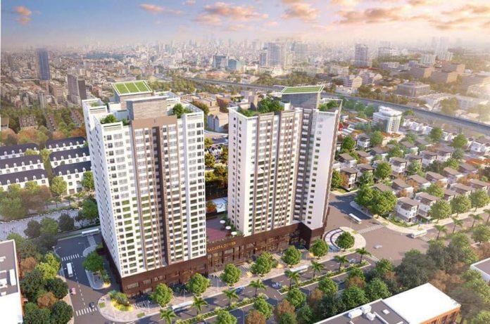 Phối cảnh chung cư Lacasta Tower Văn Phú