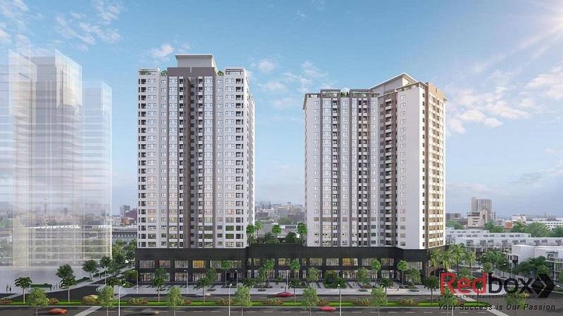 Phối cảnh 2 Lacasta Tower khu đô thị Văn Phú - Hà Đông