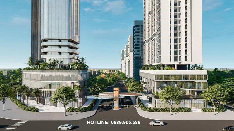 Quảng trường trung tâm dự án Stella City Thanh Hóa