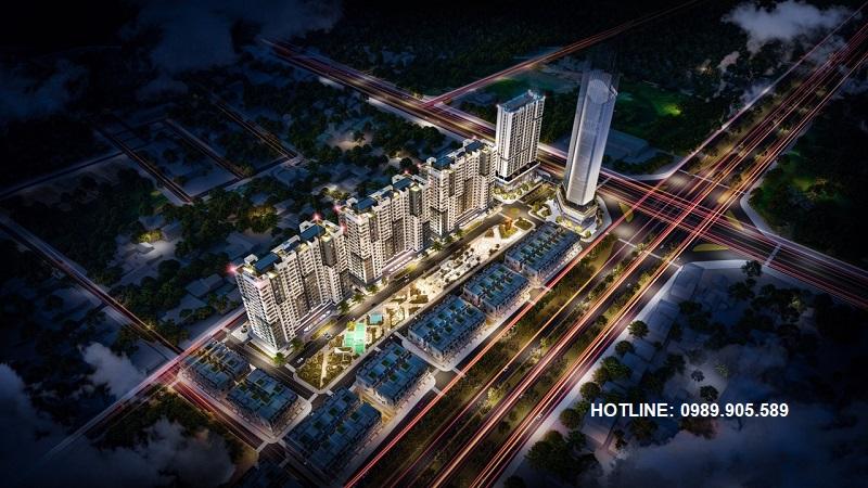Phối cảnh dự án Stella City Thanh Hóa