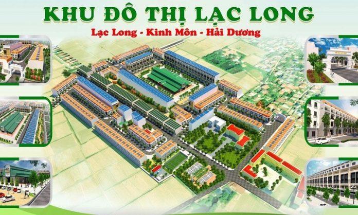 Phối cảnh khu đô thị Lạc Long Kinh Môn - Hải Dương