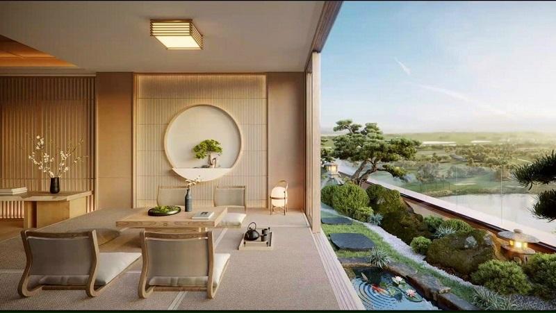 Phối cảnh căn hộ dự án landmark
