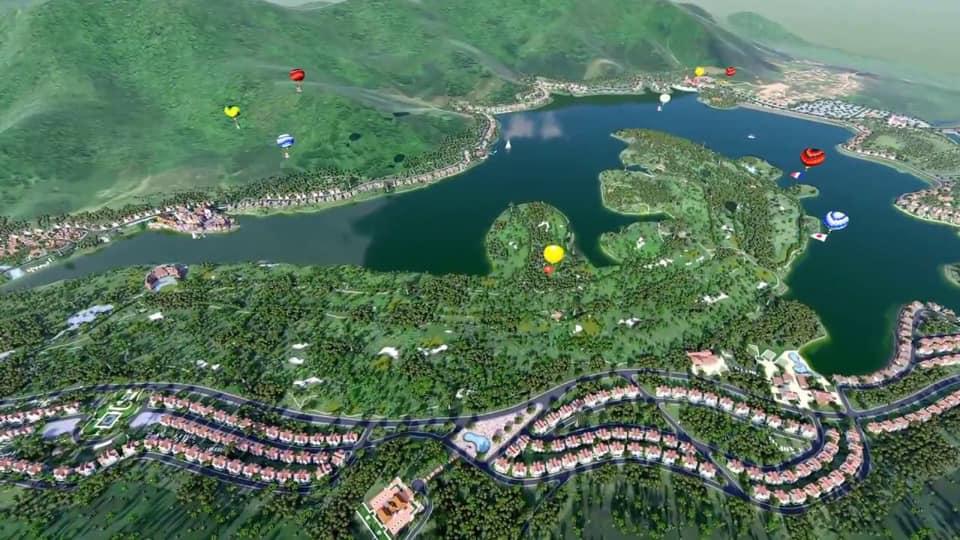 Phối cảnh Resort Serena Valley Thanh Lanh - Vĩnh Phúc