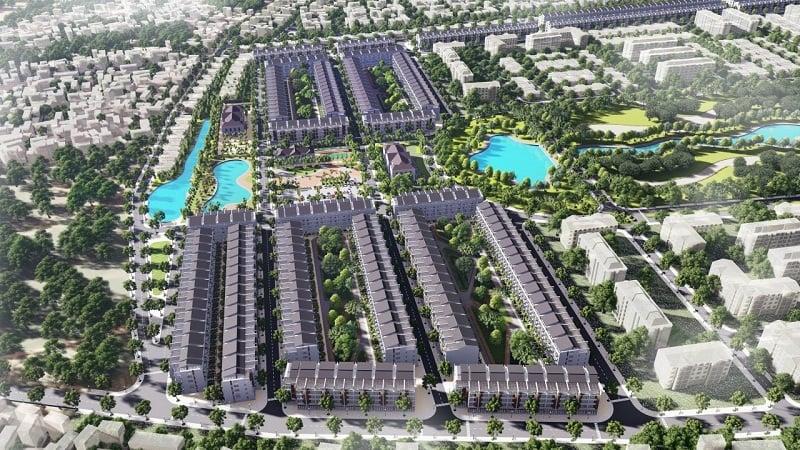 phối cảnh 2 khu đất đấu giá Đông Yên - Yên Phong - Bắc Ninh