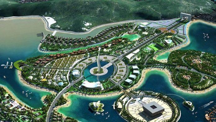Phối cảnh tổng thể dự án Dragon Ocean Hải Phòng