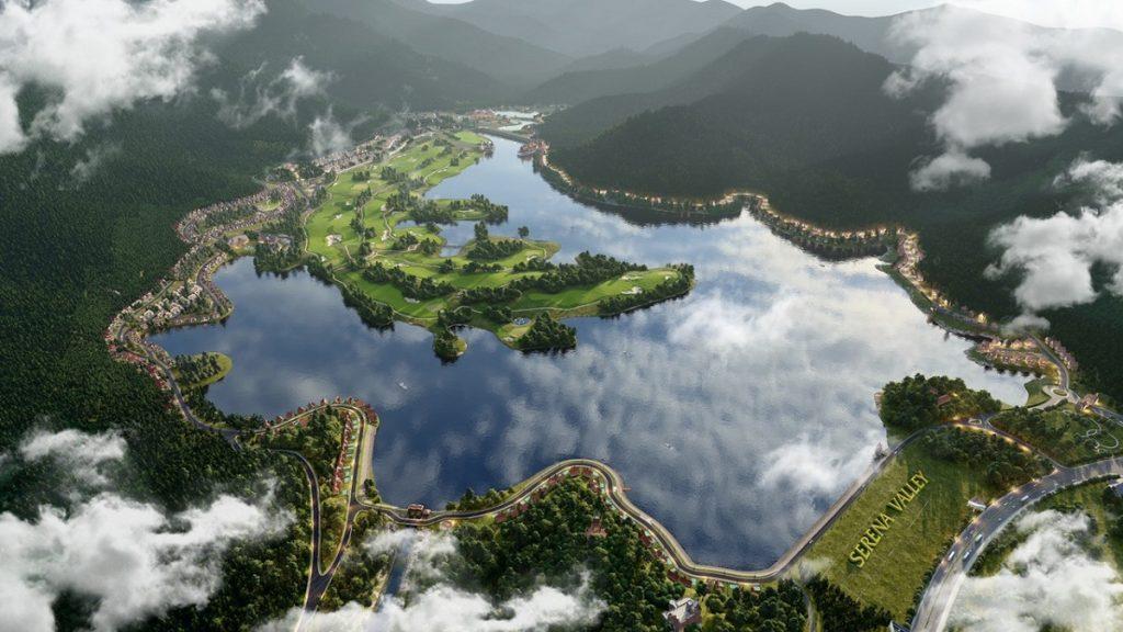 Quy mô Serena Valley Thanh Lanh Resort Vĩnh Phúc