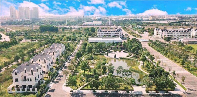 Phối cảnh dự án đất đấu giá Đông Yên - Yên Phong -Bắc Ninh