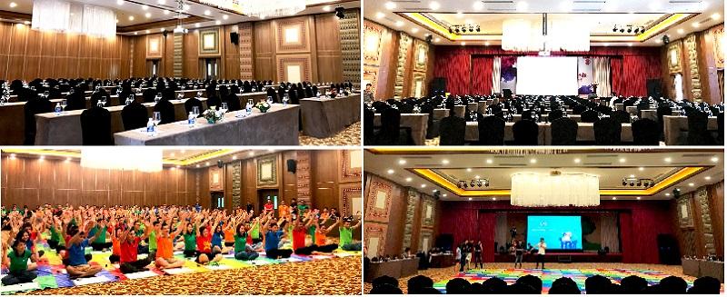 Phòng hội trường Serena Thanh Lanh Resort