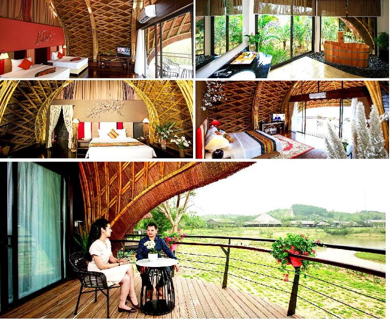 Phòng nghỉ Bamboo Serena Valley Thanh Lanh – Vĩnh Phúc