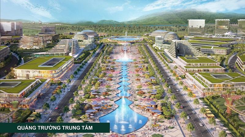 Quảng trường trung tâm Kn Paradise Khánh Hòa