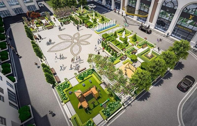 Quảng trường trung tâm BID Eden Garden Lê Lợi