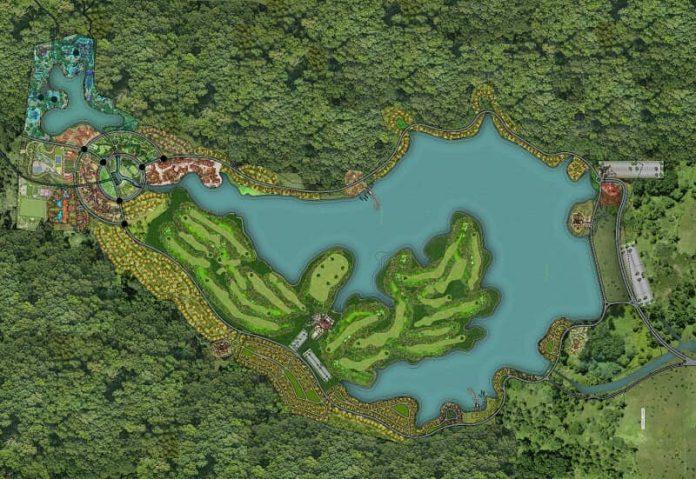 Quy mô Serena Thanh Lanh Resort Vĩnh Phúc